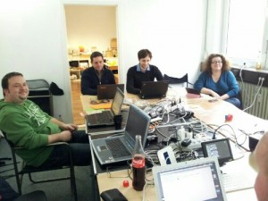Dürfen das Büro der Piratenpartei benutzen für Freifunk-Treffen