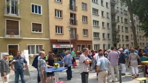 Einweihung des neugestalteten Lessingplatzes am 25. Juli 2014