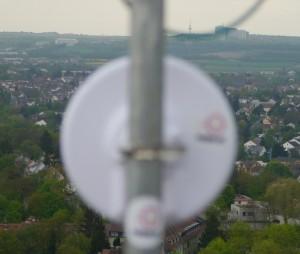 Backbone-Blick gen Lerchenberg