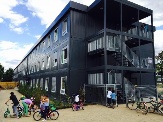 Flüchtlingsunterkunft mit freiem WLAN in Mainz