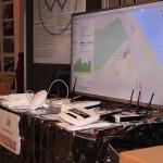 Freifunk-Stand mit Demo-Hardware